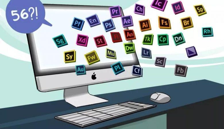 معرفی برنامه های Adobe