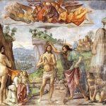 تحلیل نقاشی تعمید مسیح