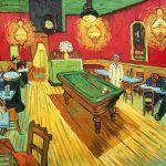 نقاشی شب در کافه