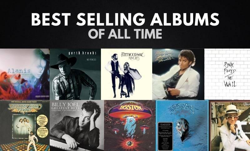 ( پرفروش ترین آلبوم موسیقی جهان )