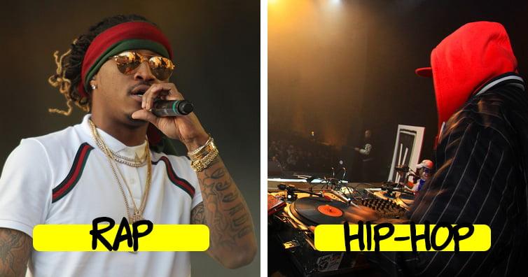 فرق رپ و هیپ هاپ چیست؟