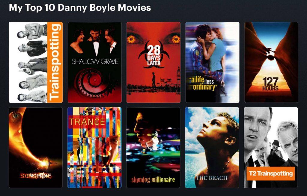 فیلم های دنی بویل