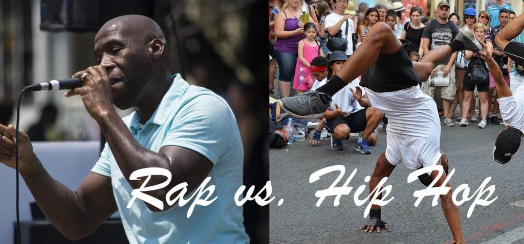 فرق رپ و هیپ هاپ