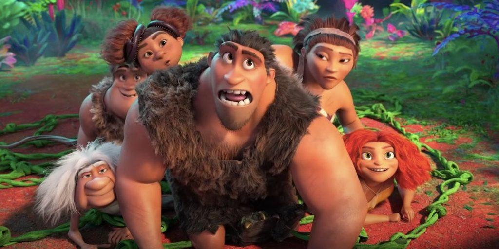 انیمیشن خانواده کرودها