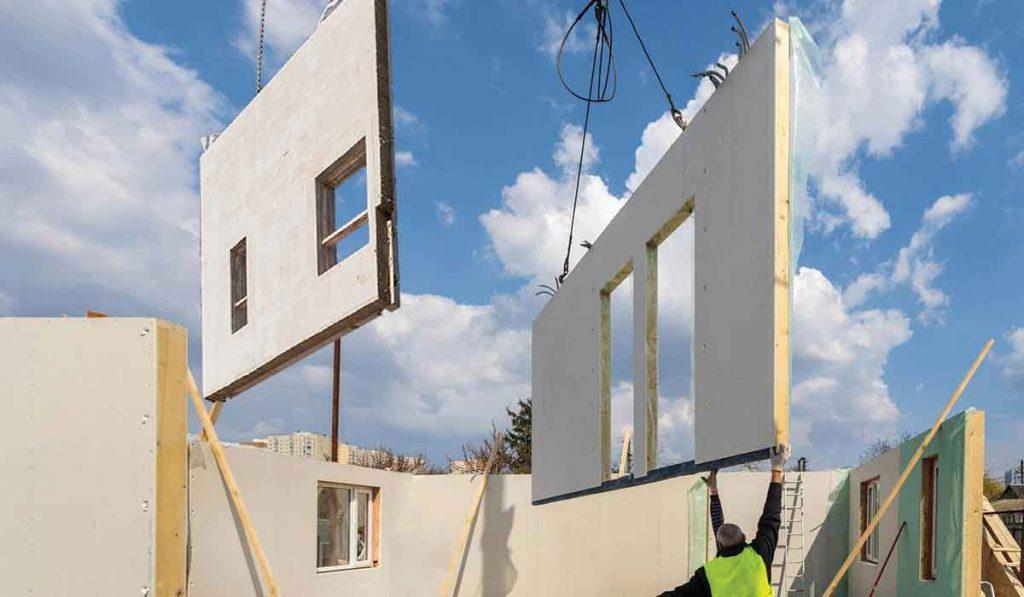 ساخت خانه های مدولار
