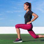 آموزش تمرین لانج معکوس با دمبل