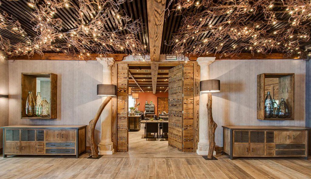 طراحی داخلی سبک روستایی