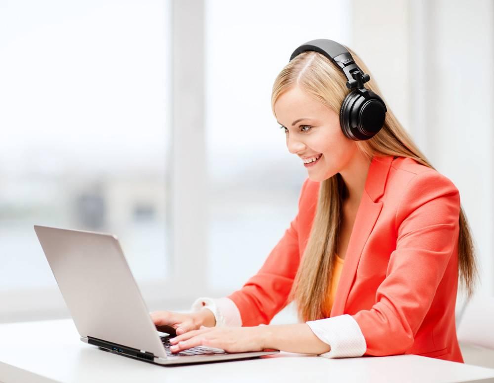گوش دادن به موسیقی