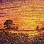 پوینتیلیسم در هنر چیست؟ 5 نقاشی معروف پوینتیلیسم